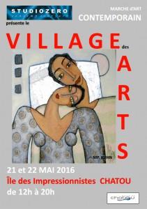 village des arts Chatou2016